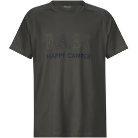 Bergans Happy Camper Kortærmet T-shirt Herrer oliven